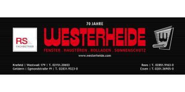 Westerheide GmbH Fenster - Haustüren - Rolladen - Sonnenschutz
